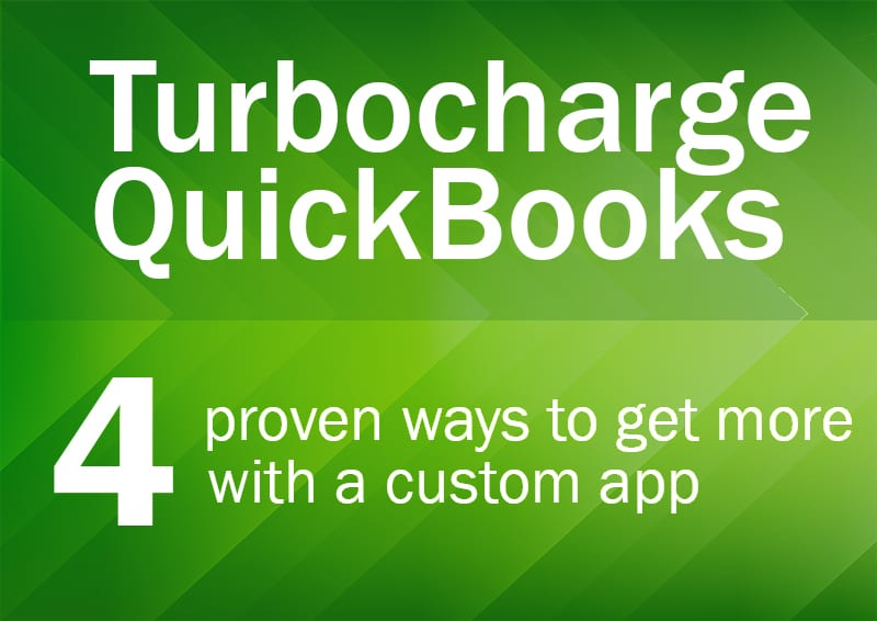 Turbocharge QuickBooks with a Custom FileMaker App