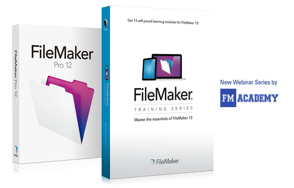 FileMaker 12 Is Released and a New Webinar Series Is Announced!
