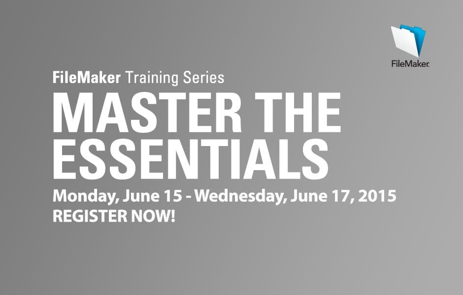 FileMaker Training Series: Master the Essentials of FileMaker 13
