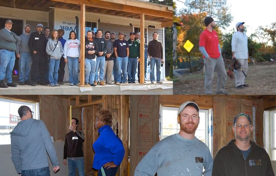 IT Solutions Volunteers with Habitat for Humanity to Help Build Local Home