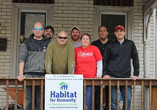 ITS Helps Rebuild Local Home for Family In Need
