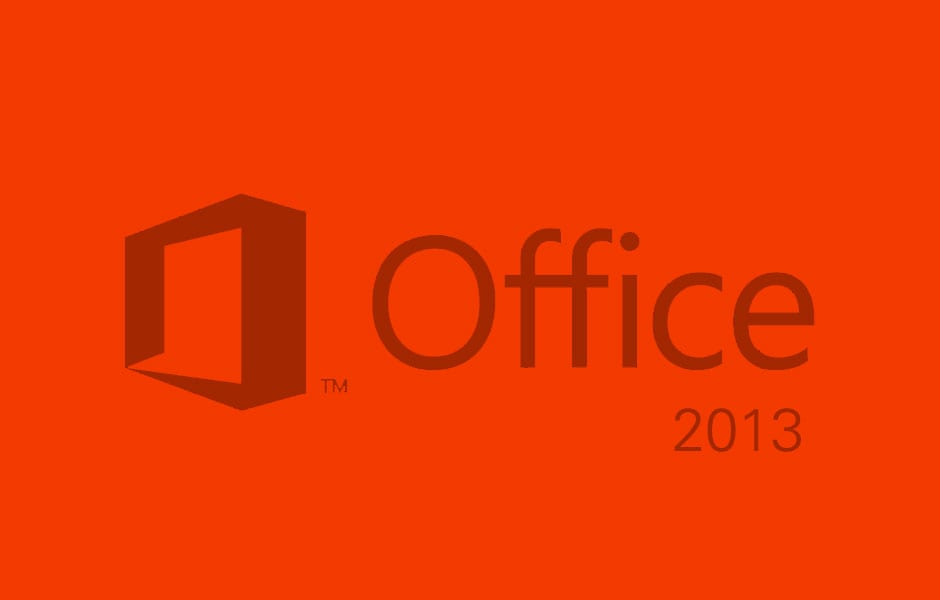 MS Office 2013 Includes New Touch, Cloud and Social Features