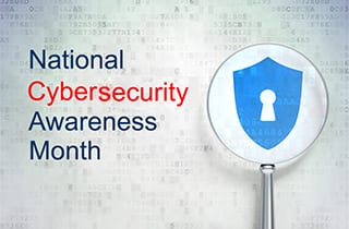 It's National Cybersecurity Awareness Month