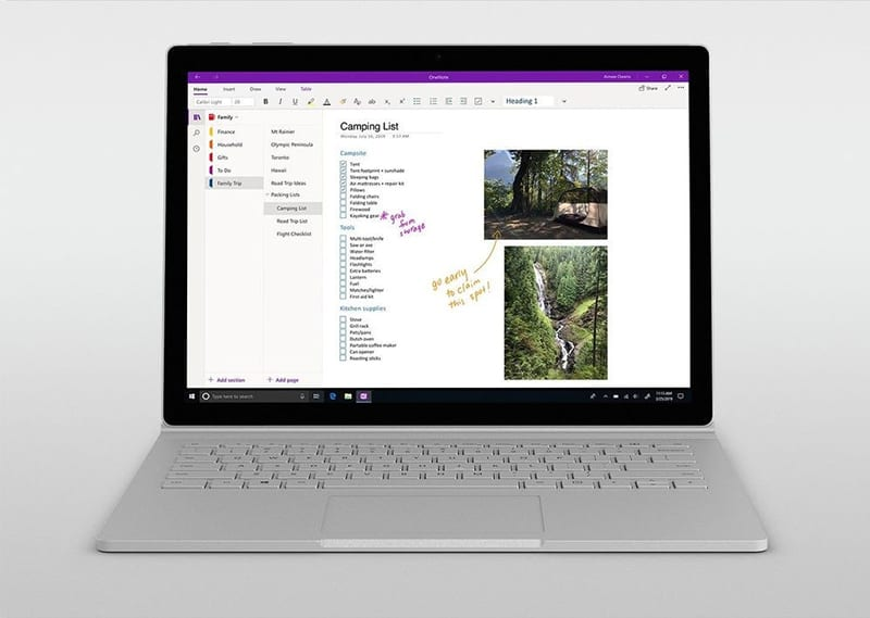 Microsoft Announces Updates to OneNote Application