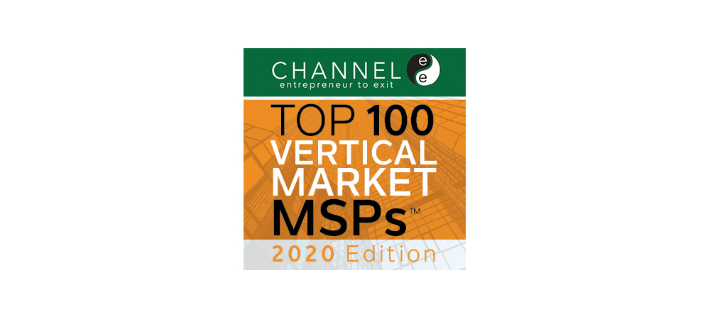 ITS Named to ChannelE2E Top 100 Vertical Market MSPs: 2020 Edition