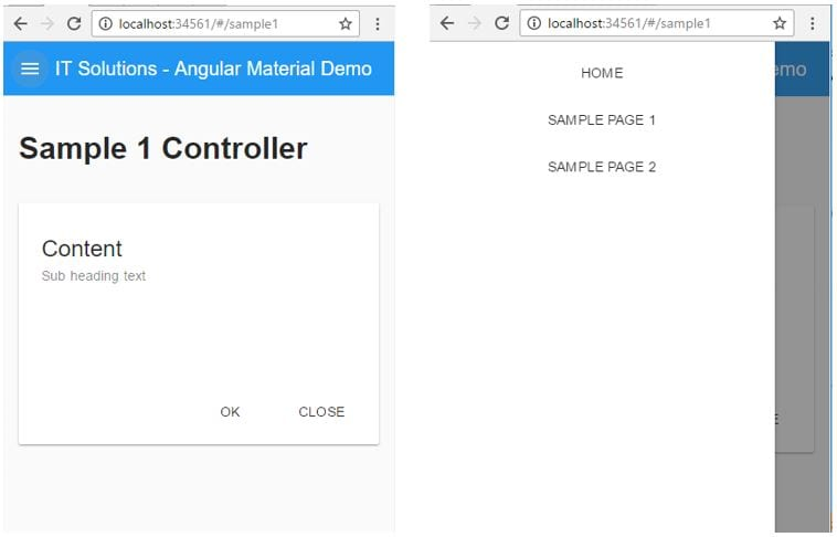 Material Design: Angular Material as an Application of